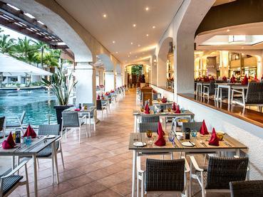 Le restaurant principal Les Quais du Mauricia Beachcomber