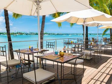 Panorama imprenable depuis le restaurant Les Quais du Mauricia