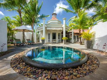 La piscine de la Villa du Mauricia Beachcomber
