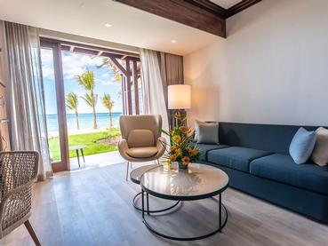 Beach Front Premium Room du Méridien à Île Maurice