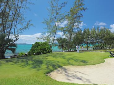 Le superbe parcours de golf du Shandrani Beachcomber