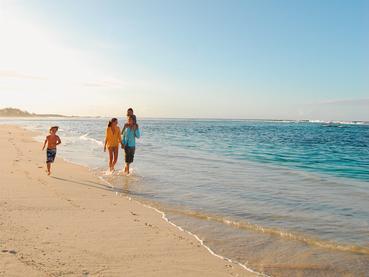 Séjour idéal en famille au Shandrani Beachcomber