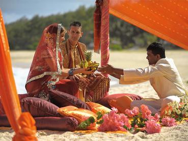 Mariage dans un cadre unique au Shandrani