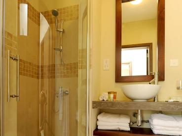 Salle de bain de la Villa 1 Chambre d'Athena à Pereybere