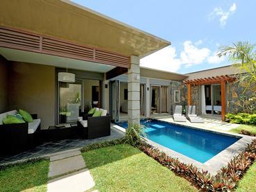 Jardin de la Villa 3 Chambres d'Athena à Grand Baie