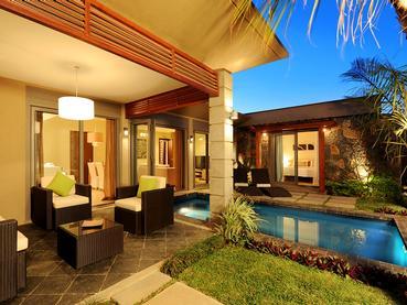 Jardin de la Villa 4 Chambres d'Athena à Grand Baie