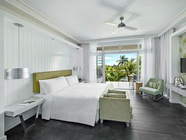 Junior Suite Sea View du Long Beach à l'île Maurice