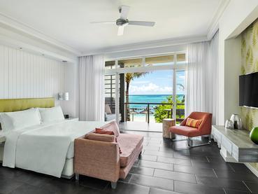 Junior Suite Ocean Front du Long Beach à l'île Maurice