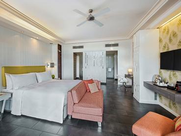 Junior Suite de l'hôtel Long Beach à l'île Maurice