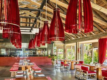 Le restaurant Chopstick du Long Beach à Belle Mare