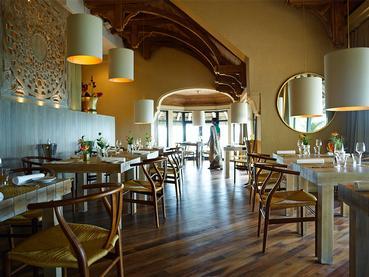 Le restaurant Amari by Vineet du LUX* à Belle Mare