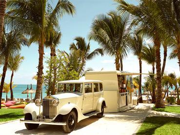 Le food-truck de l'hôtel LUX* Belle Mare à l'île Maurice