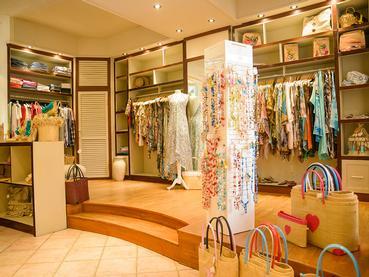 La boutique du LUX* Belle Mare à l'île Maurice