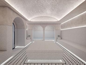 Le Hammam du LUX* Grand Baie, aux allures de temple marocain
