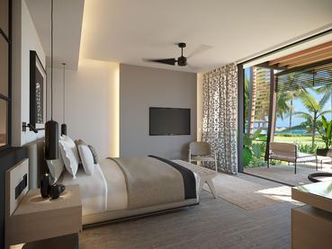 La Suite Junior LUX* de l'hôtel LUX* Grand Baie