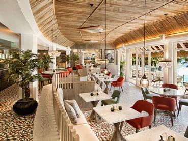 Le restaurant Inti de l'hôtel LUX* Grand Gaube