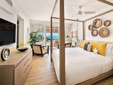Suite Junior Ocean de l'hôtel LUX* Grand Gaube