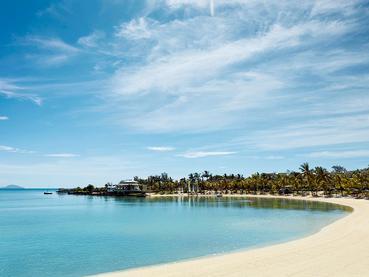 La plage du LUX* Grand Gaube à l'île Maurice