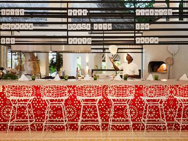 Live cookings au restaurant Le Palm Court du LUX* Grand Gaube