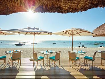Spécialités méditerranéennes au restaurant The Beach du LUX* Le Morne