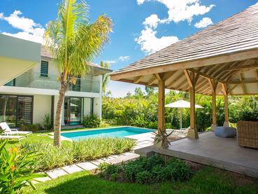 Vue extérieure de la Deluxe Villa du Marguery Exclusive Villas