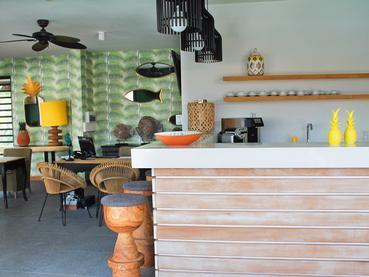 Le bar à cocktail du Club House du Marguery Exclusive Villas
