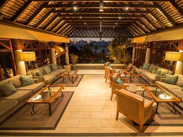 Le lobby de l'hôtel Maritim Resort & Spa Mauritius