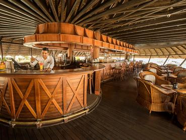 Quarter Deck Bar du Maritim Resort à l'île Maurice