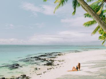 Détente sous le soleil de l'île Maurice au Saint Géran