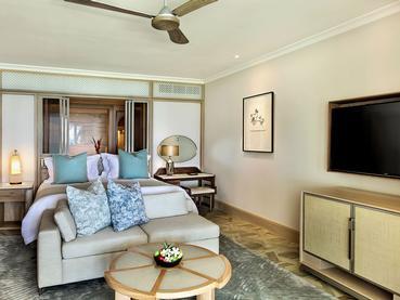 2 Bedroom Beach Front Suite de l'hôtel Saint Géran