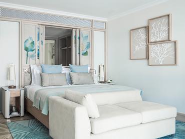 Ocean Room de l'hôtel One & Only Le Saint Géran