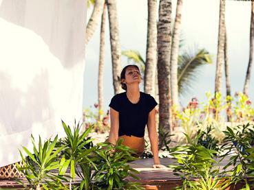 Yoga au One & Only Le Saint Géran à l'île Maurice