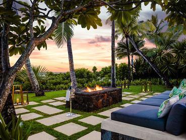 La belle Villa One du Saint Géran à l'île Maurice