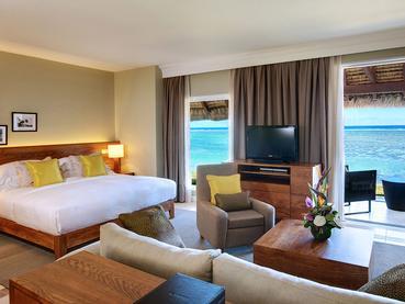 Junior Suite Beachfront de l'hôtel Outrigger Mauritius