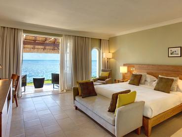 Beach Front de l'hôtel Outrigger à l'île Maurice