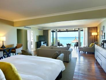 Senior Suite Beachfront de l'Outrigger Mauritius