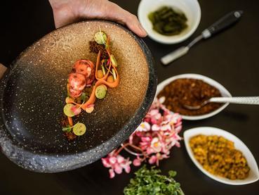 Expérience culinaire mauricienne à l'hôtel Outrigger