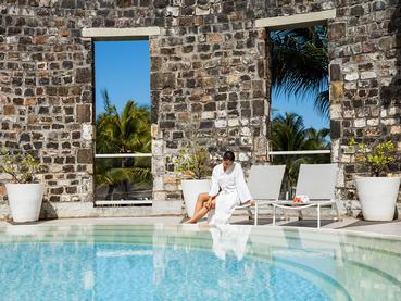 Relaxez-vous au Spa Navasana de l'Outrigger Mauritius