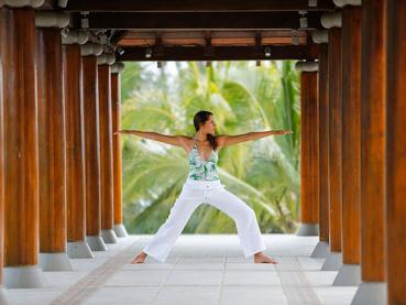 Yoga à l'hôtel Outrigger Mauritius situé à Bel Ombre