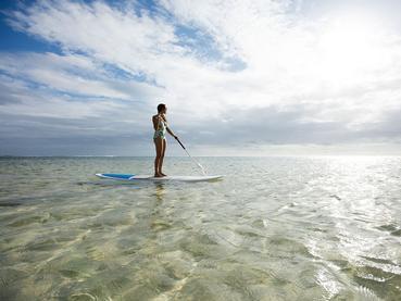 Activité nautique de l'Outrigger Mauritius Beach Resort