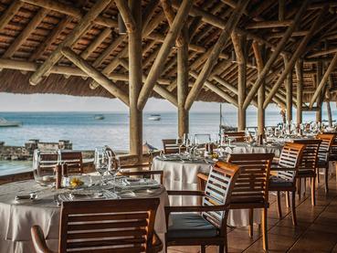 Le restaurant Blue Marlin du Paradis Beachcomber