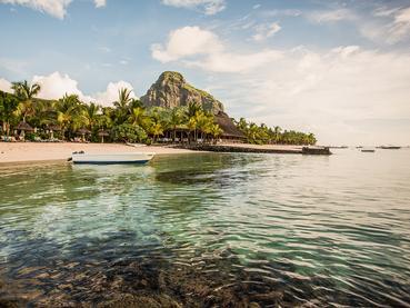 La superbe plage des Villas du Paradis Beachcomber