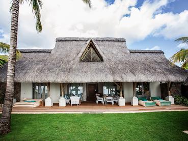 Vue extérieure de la Paradis Villa du Paradis Beachcomber