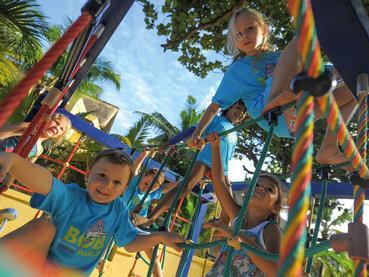Les enfants s'amuseront tout en s'épanouissant au Paradis Beachcomber
