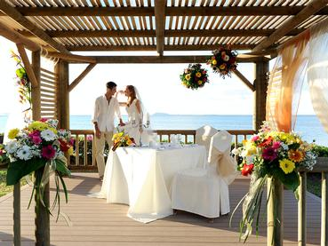 Mariage à l'hôtel Veranda Paul & Virginie à l'Ile Maurice