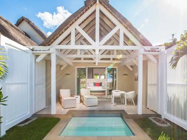 La Chambre Deluxe Prestige du Radisson Blu Azuri à l'île Maurice