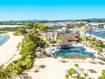 Vue aérienne du Radisson Blu Azuri Resort & Spa