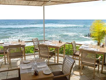 Le restaurant La Pointe aux Piments du Récif Attitude