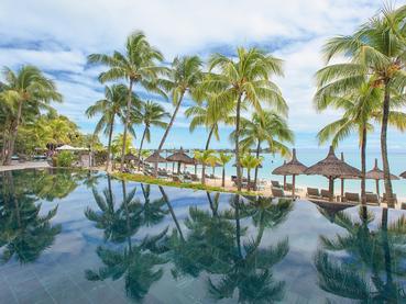 La piscine de l'hôtel Royal Palm Beachcomber