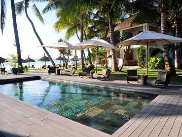La piscine du Sakoa Boutik Hotel à l'île Maurice